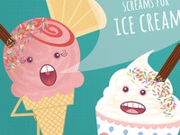 I scream, you scream, we all scream for ice cream