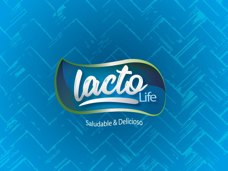 Lacto Life Brand vector branding design typography product branding color branding design