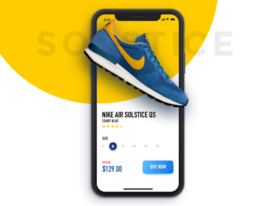 Nike App ios iphonex application sketch product ecommerce shop nike app design ux ui