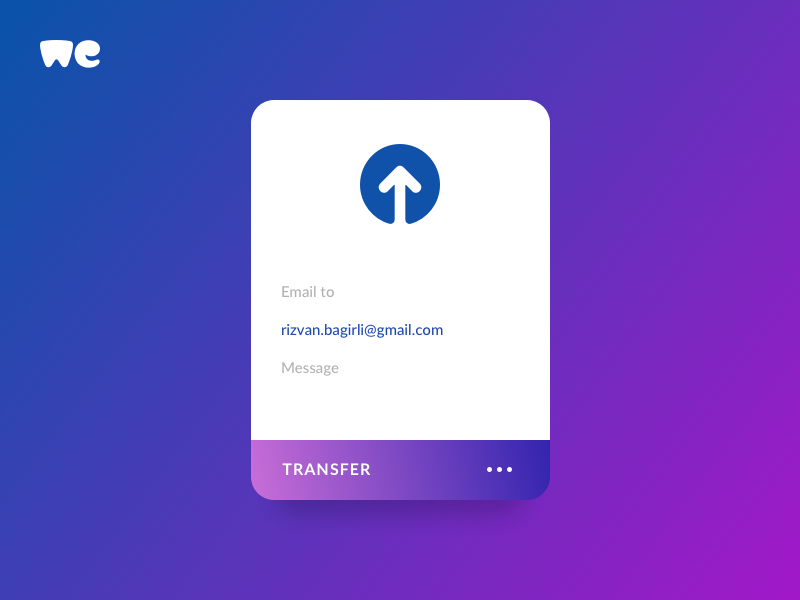 Daily UI | 031 — File upload by Rizvan Baghirli on Dribbble