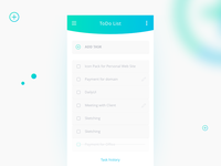 Daily UI | 042 — ToDo List