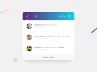 Daily UI | 047 — Activity Feed