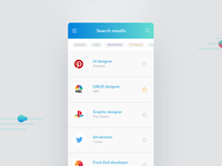 Daily UI | 050 — Job List