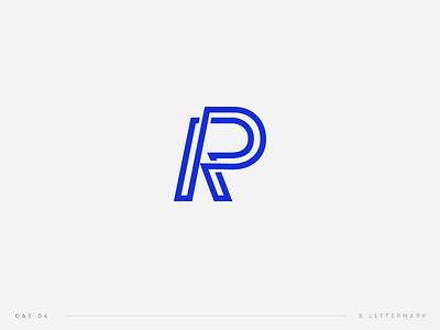 Daily Logo Challenge | 04. Letter mark 04 challenge daily logo r logo mark lettermark