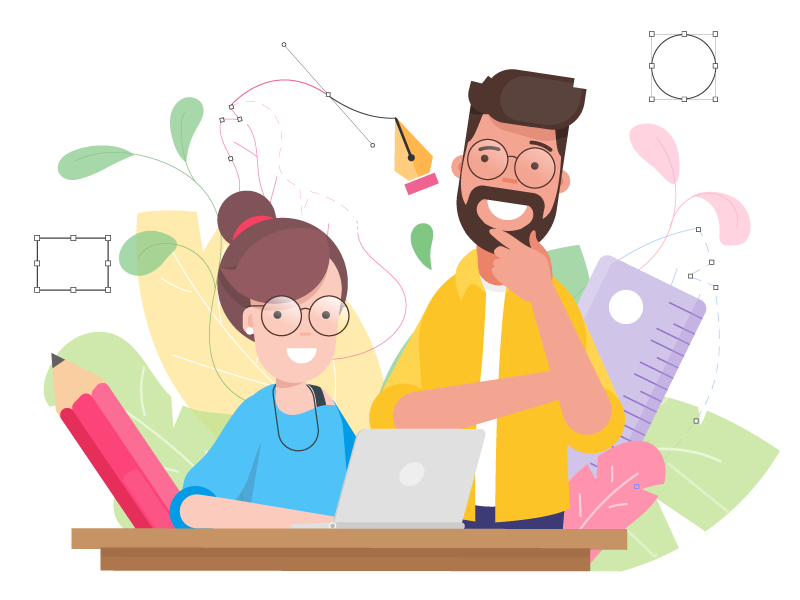 Hiring designer :) zeta bangalore job hiring vector portfolio marketing illustrator illustration graphic design designer