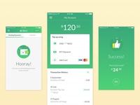 Mobile Payment App Design ui design success screen app design payment app mobile app design ui design interface app mobile