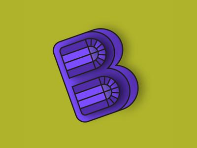 Blackformat Edition  playoff vector illustrator edition showcase logo b