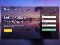 Place Travel Web Design