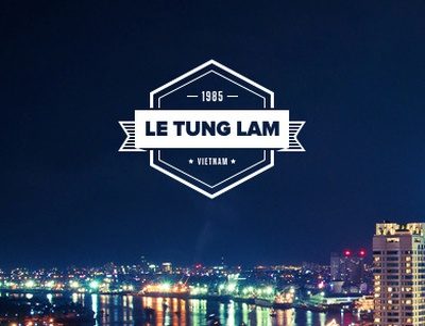 My first shot :) ho chi minh saigon signature logo vietnam branding retro sai gon hochiminh