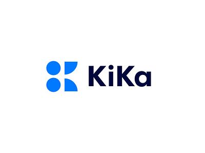 KiKa Identity Project k logo finance web ux typography flat minimal ui app clean branding design logo