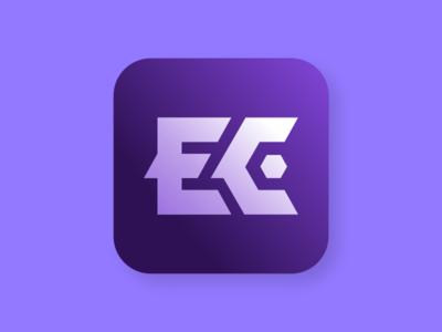 EC Tech logo concept