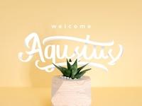 Welcome Agustus