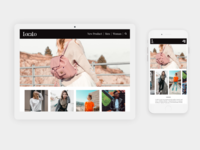 Localo Fashion Brand UI Design