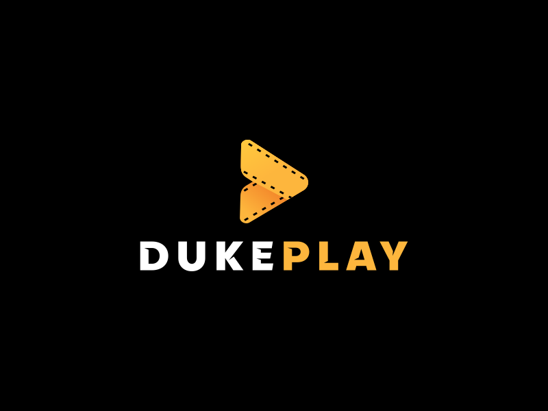 Dukeplay Logo Design logo icon logo apps icon logogram video logo movie logo film logo yellow logo logo design play logo d logo logomark logotype identity branding design brand logo