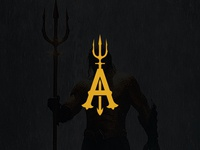 Aquaman Logo Design