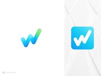W Logo Apps