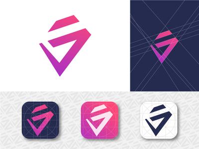 J Lettermark for Logo Apps