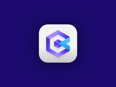 Cubic logomark.