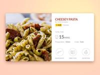 Food Recipe UI