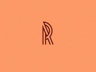 Daily Logo Challenge #4 - Single Letter R graphic logo r letter branding daily logo challenge