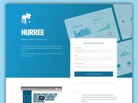 Hurree Landing Page
