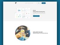 Hurree Concept Website Re-Design