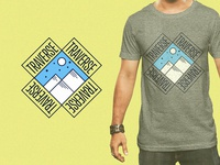 """Daily Logo Challenge #8 - Ski Mountain Logo """"Traverse"""""""