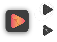 Daily Logo Challenge 9 - Music Streaming Site