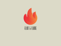 Daily Logo Challenge #10 - 'Flint & Flame'