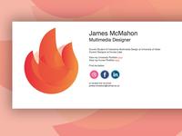 Simplistic Portfolio Landing Page