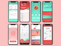 Phone App UI Designs
