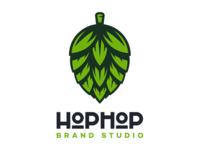 HopHop Brand Studio Logo