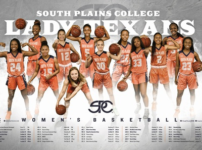 SPC Women's Basketball Team Poster
