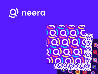 Neera search - branding graphic design design branding brand logo