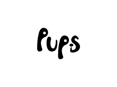 #15, Thirty Days Logo Challenge thirty logos puppy brand branding logo dog pups logo pups