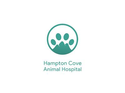 #19, Thirty Days Logo Challenge hampton cove vet hospital animal dog thirty logos thirtylogos branding brand logo