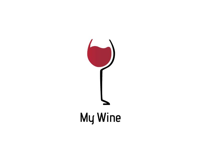 #26, Thirty Days Logo Challenge mywine wine thirty logos thirtylogos branding brand logo