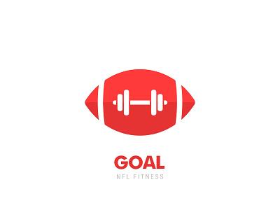 #27, Thirty Days Logo Challenge thirty logos thirtylogos branding logo fitness app brand and identity brand nfl football american football fitness
