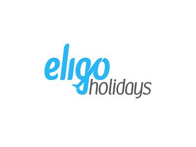 Eligo Holidays Logo go flight tours travels holidays brand logo