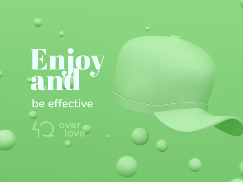 Enjoy webdesign logo illustration design branding design branding brand identity 3d illustration 3d art 3d