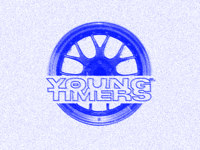 YOUNG TIMERZ MERCH LOGO DRAFT branding digital art logo graphic design