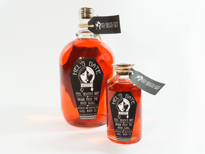 Hel's Gate Whiskey Brand & Packaging norse mythology hel school project alcohol packaging packaging logo naming brand design whiskey