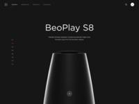 B&o E-commerce concept blackandwhite webdesign web clean design clean ui minimalist minimalistic ecommerce design ecommerce
