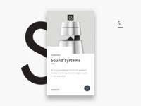 B&O Sound Systems X1