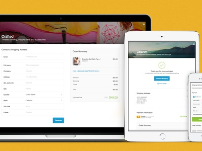 Introducing Responsive Checkout checkout responsive shopify ecommerce mobile store
