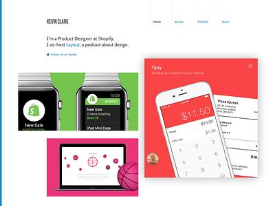 New Homepage homepage website portfolio