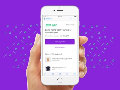 Improved customer emails confirmation order notification receipt email