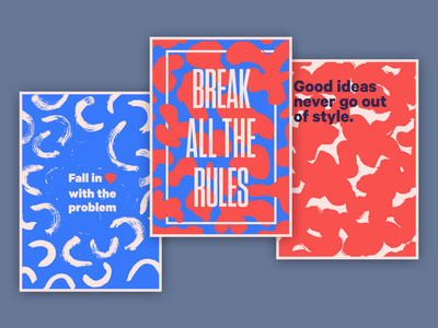 Posters for the MTL Design Club