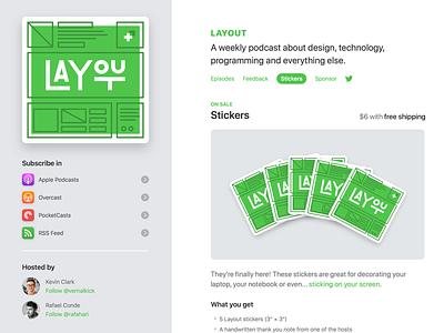 New Layout Website