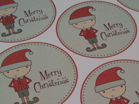 Christmas Gift Tags Printable Sheet